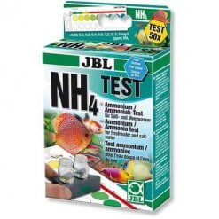 JBL Test NH4 Ammonium mesure le taux d'ammonium de votre eau d'aquarium
