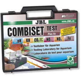 JBL combiset 5 tests + fer. Test simple et rapide pour connaître efficacement le taux de fer de votre eau.