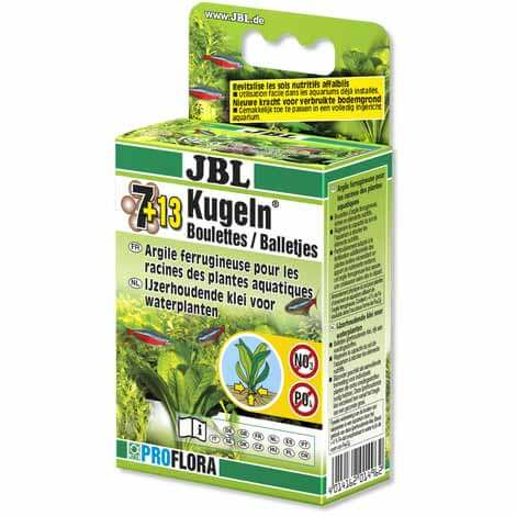 JBL les 7 + 13 boulettes engrais pour les plantes d'eau douce