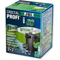 filtre interne pour aquarium jbl cristalprofi i60 greenline