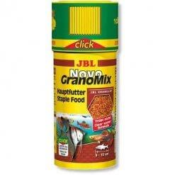 nourriture pour poissons aquarium jbl novogranomix click dosage