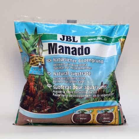 JBL manado substrat de sol naturel pour aquarium et décoration