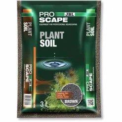 JBL Proscape PlantSoil Brown 3l est un substrat de de sol nutritifs pour les plantes d'aquarium