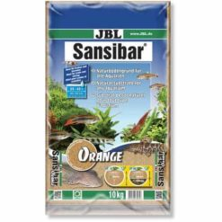 JBL Sansibar Orange substrat de sol pour aquarium 5kg / 10 kg