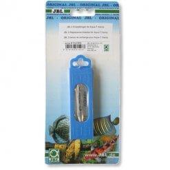 recharge de 5 lames pour le nettoyeur de vitres d'aquarium jbl aqua-t handy