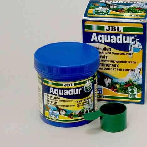 jbl aquadur conditionneur d'eau pour durcir l'eau, l'eau carbonaté et stabiliser le ph