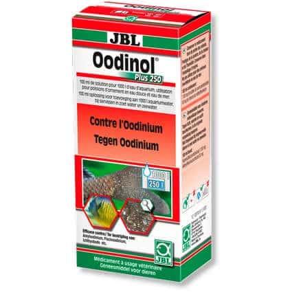 traitement de la maladie du velours chez le spoissons jbl oodinol plus 250