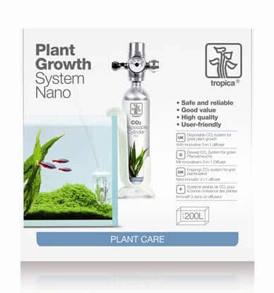 Tropica system nano plant growth CO2 pour aquarium