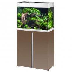 Aquarium Eheim combinaison proxima 175 litres moka brillant