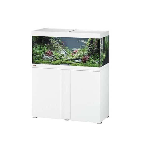 aquarium eheim combinaison vivaline 180 litres blanc