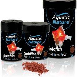 aquatic nature goldfish excel color nourriture pour poissons rouges et raviver les couleurs