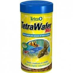tetra wafer mix pour poissons de fond