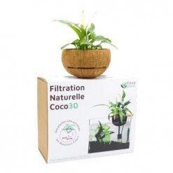 Cocoplant 30 filtre en aquaponie pour aquarium