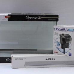 nano aquarium kit cocoon 7 avec rampe chihiros et filtre niagara