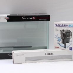 nano aquarium kit cocoon 6 avec rampe chihiros et filtre niagara