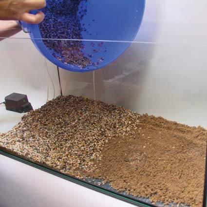 sol nutritif pour les plantes d'aquarium JBL Aquabasis Plus