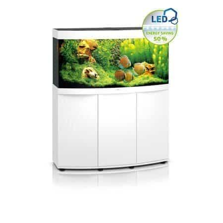 Aquarium Juwel vision 260 led avec meuble blanc