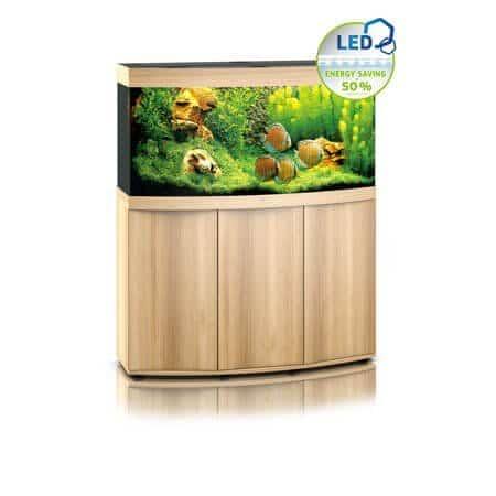 aquarium juwel vision 260 mitres avec meuble bois clair