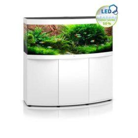 aquarium juwel vision 450 litres avec meuble blanc