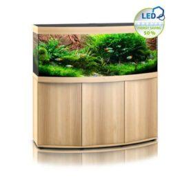 Aquarium Juwel vision 450 avec meuble bois clair