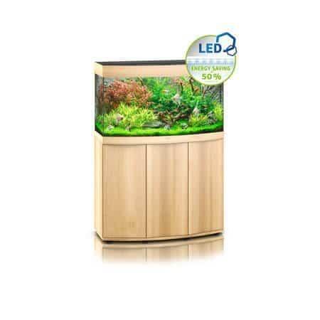 aquarium juwel 180 led avec meuble bois clair