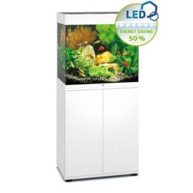 aquarium Juwel Lido 120 Led Blanc avec meuble
