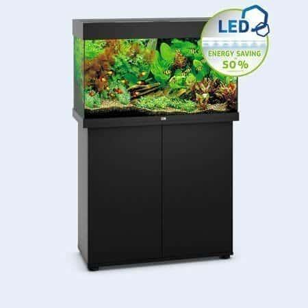 aquarium juwel rio 125 led avec meuble noir