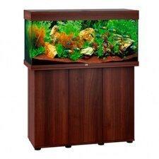 aquarium juwel rio 180 led avec meuble bois brun