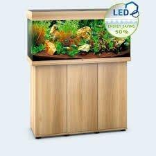 aquarium juwel rio 180 led avec meuble bois clair