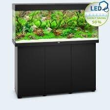 aquarium juwel rio 240 led avec meuble noir