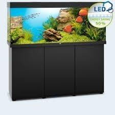 Aquarium Juwel Rio 450 Led avec meuble noir