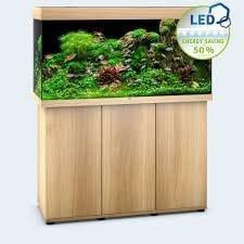 aquarium juwel rio led 350 litres bois clair