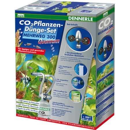 Kit CO2 Dennerle quantum 300 rechargeable pour aquarium jusqu'à 300 litres