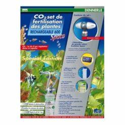 kit co2 dennerle space 600 rechargeable pour aquarium jusqu'à 600 litres