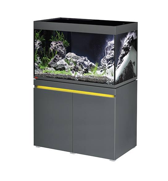 aquarium eheim incpiria 330 litres led graphit