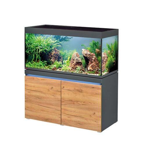 aquarium eheim incpiria 430 litres led graphit nature
