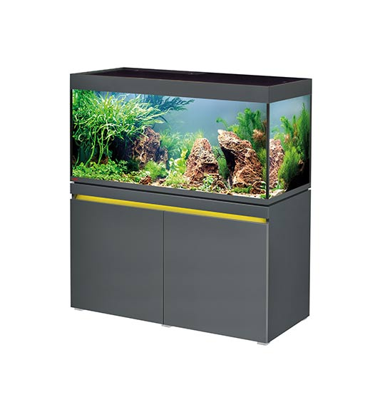 aquarium eheim incpiria 430 litres led graphit