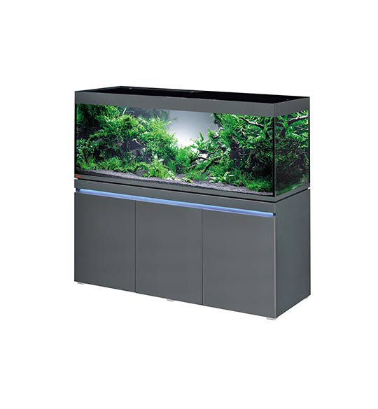 aquarium eheim incpiria 530 litres led graphit