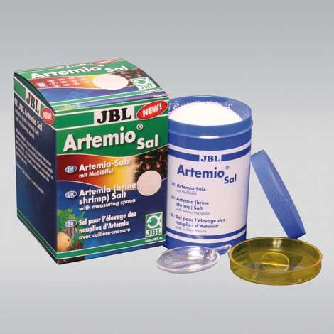 sel de culture pour artémias jbl artemiosal