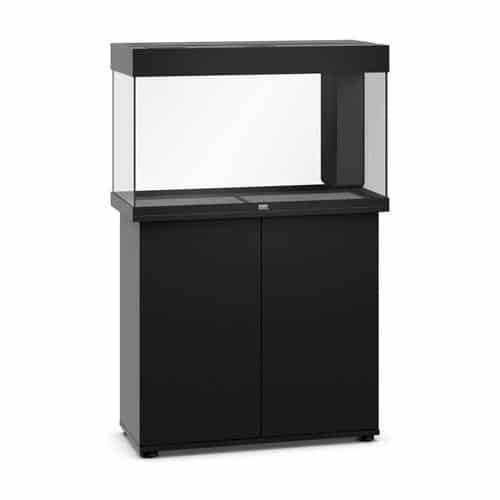 Juwel rio 125 led noir avec meuble