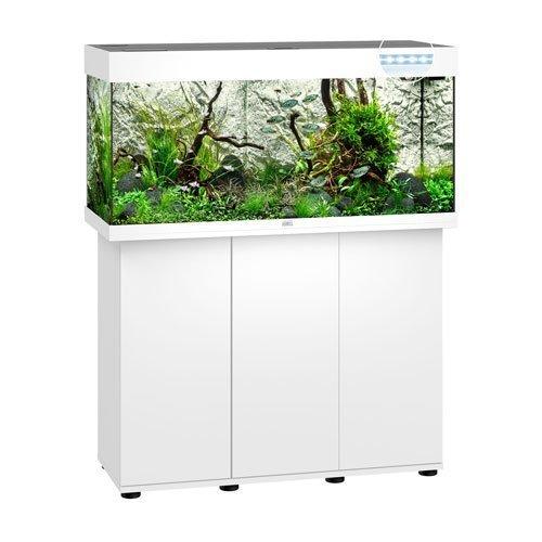 Juwel Rio 180 Blanc led avec meuble aquarium 180l