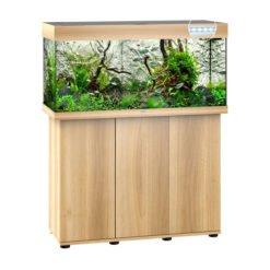 Juwel Rio 180 bois clair avec meuble aquarium 180l