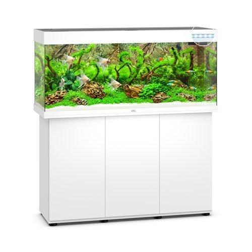 Juwel Rio 240 Blanc led avec meuble aquarium 240l