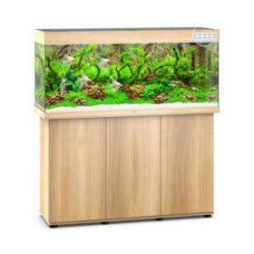 Juwel Rio 240 Bois clair led avec meuble aquarium 240l