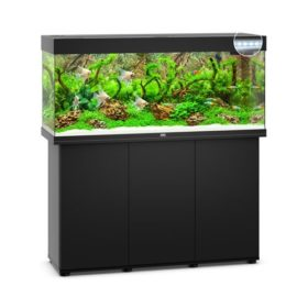 Juwel Rio 240 Noir led avec meuble aquarium 240l