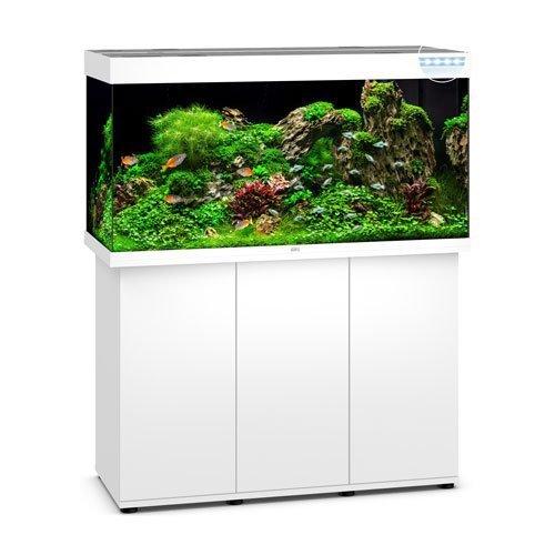 Juwel Rio 350 Blanc led avec meuble aquarium 350l