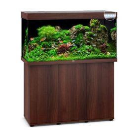 Juwel Rio 350 bois brun led avec meuble aquarium 350l