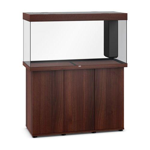 Juwel Rio 350 bois brun led avec meuble aquarium 350l vide