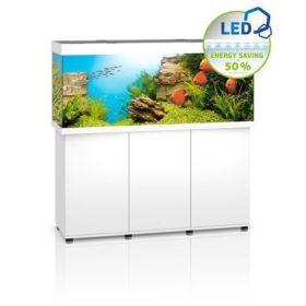Aquarium Juwel Rio 450 Led avec meuble blanc