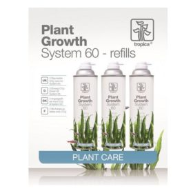 bouteilles de recharges CO2 Le Tropica Plant Growth System 60 Refills contient 3 bouteilles de recharges pour le système CO2 Tropica Plant Growth System 60